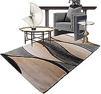 リビングルーム近代的なフルショップは手で織ることができます織りはさみクラフトカーペット ( 色 : 5 , サイズ さいず : 120*170cm )