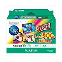 富士フイルム/インクジェットペーパー/画彩/写真仕上げ/Value/L / 400枚 / WPL400VA