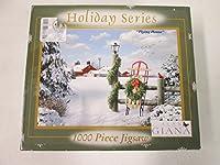 "E & L Alan Giana Holidayシリーズ"" Flying Home "" 1000ピースジグソーパズル"
