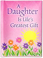 """Little Keepsake Book : A Daughter Is Life 's Greatestギフト、3"""" x 4"""""""