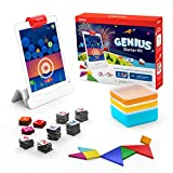 Osmo - Genius Starter Kit for iPad (NEW VERSION) - Ages 6-10 - Problem Solving & Creativity - STEM - (Osmo Base Included)