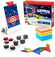 Osmo - Genius Starter Kit for iPad (NEW VERSION) - Ages 6-10 - Problem Solving & Creativity - STEM - (Osmo