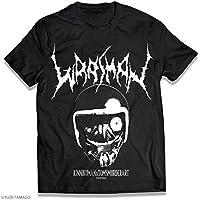 キン肉マン - ウォーズマン サタニックロゴ Tシャツ [Sサイズ]