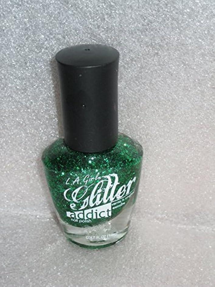 認証バズ不器用LA GIRL Glitter Addict Polish - Purge (並行輸入品)