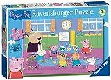 Ravensburger Peppa Pig - 教室での楽しい35個のジグソーパズル