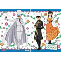[Kudo Shinichi & Ran Mouri / Kaito Kid] Gosho Aoyama Detective Conan Clear File matryoshka doll B (japan import) By movic [並行輸入品]
