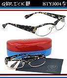 【キューブリック メガネ】人気セレクトショップEROTICAとのコラボモデル!Qbrick メガネフレーム BTY5004