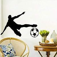 Jason Ming キッズウォールステッカーサッカーサッカーステッカービニール接着装飾すべてホーム31×44センチ