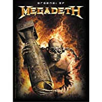 Licences Products Megadeth Arsenal Sticker