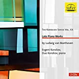 Beethoven: Late Piano Works