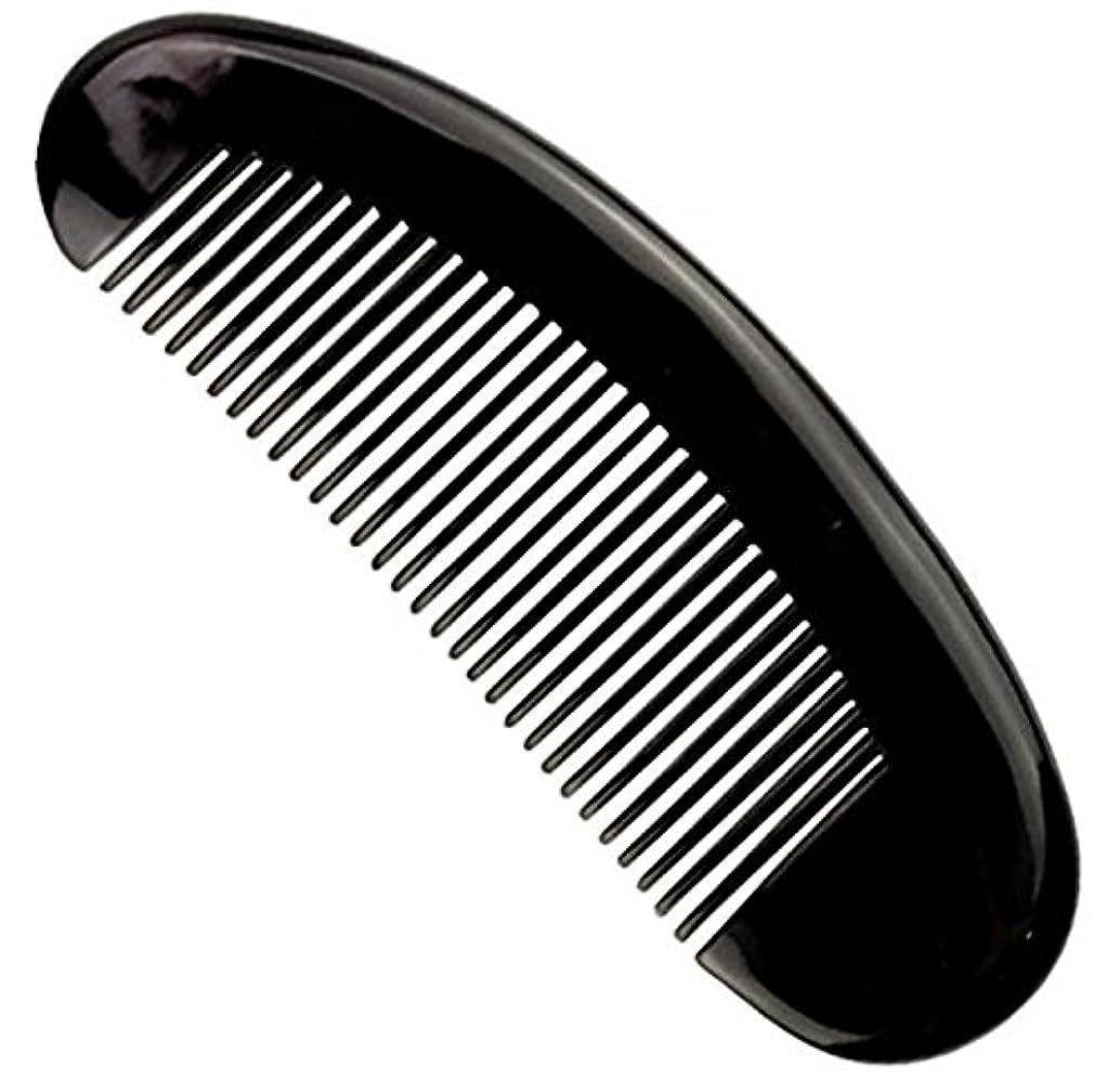 誘うメカニックサイレント櫛型 プロも使う牛角かっさプレー マサージ用 血行改善 高級 天然 静電気防止 美髪 美顔 ボディ リンパマッサージ