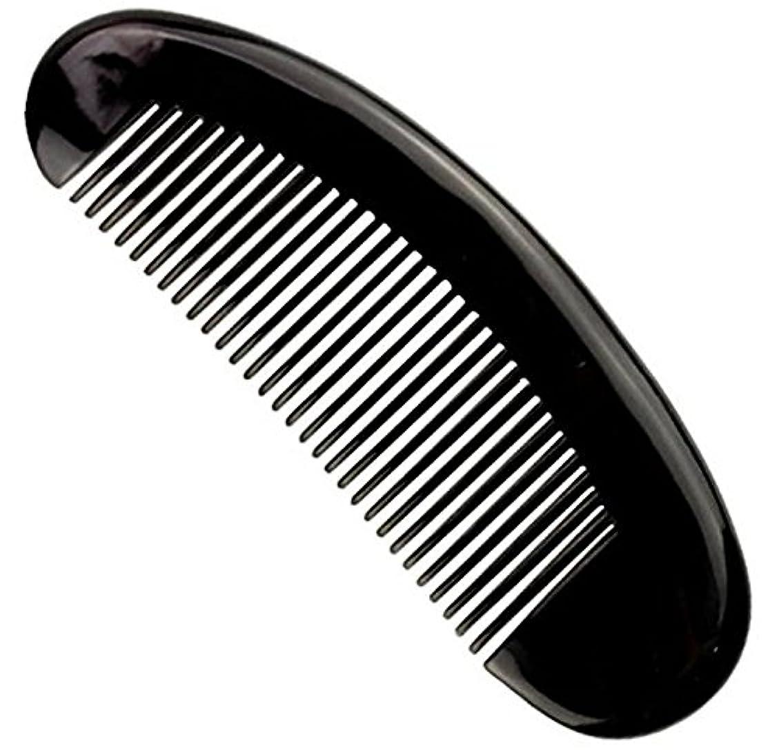 で直立接地櫛型 プロも使う牛角かっさプレー マサージ用 血行改善 高級 天然 静電気防止 美髪 美顔 ボディ リンパマッサージ