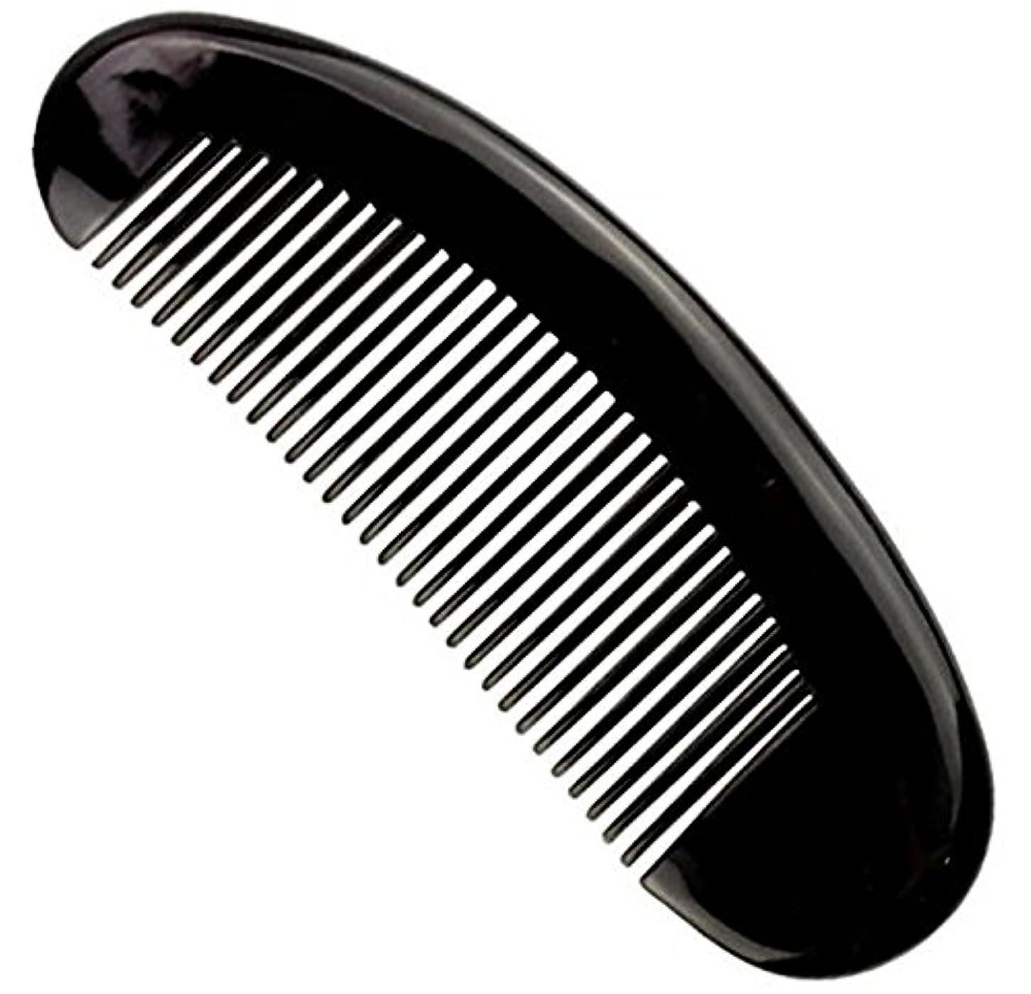 削除するトレイル生き返らせる櫛型 プロも使う牛角かっさプレー マサージ用 血行改善 高級 天然 静電気防止 美髪 美顔 ボディ リンパマッサージ
