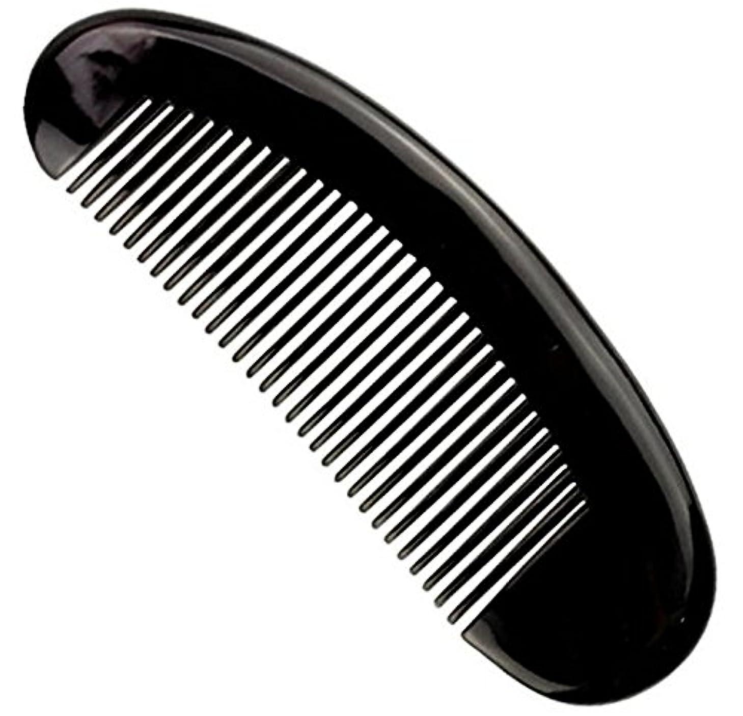 文明国豊富に櫛型 プロも使う牛角かっさプレー マサージ用 血行改善 高級 天然 静電気防止 美髪 美顔 ボディ リンパマッサージ