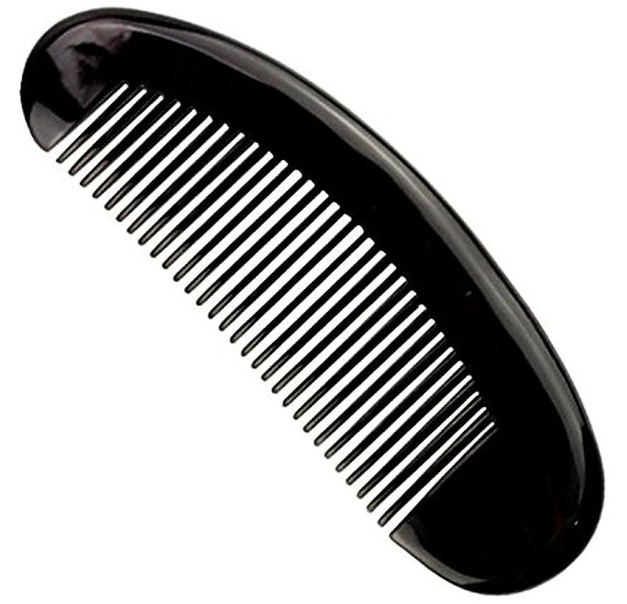 滑る横たわる単独で櫛型 プロも使う牛角かっさプレー マサージ用 血行改善 高級 天然 静電気防止 美髪 美顔 ボディ リンパマッサージ