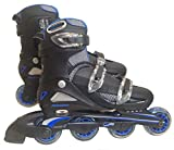 東方興産 ワンタッチサイズ調整式 インラインスケート CA9000F ブルー 24cm~27cm