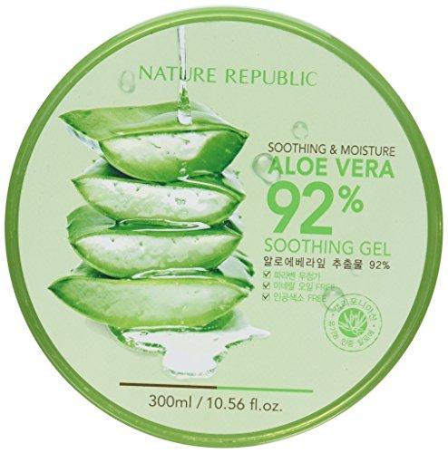 【NATURE REPUBLIC】 ネーチャーリパブリック スージング&モイスチャー アロエベラ92%スージングジェル