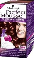 Schwarzkopf Perfect Mousse 586 mahagoni-braun 93 ml
