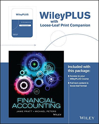 Download Financial Accounting in an Economic Context, 10e WileyPLUS Registration Card + Loose-leaf Print Companion 1119351278