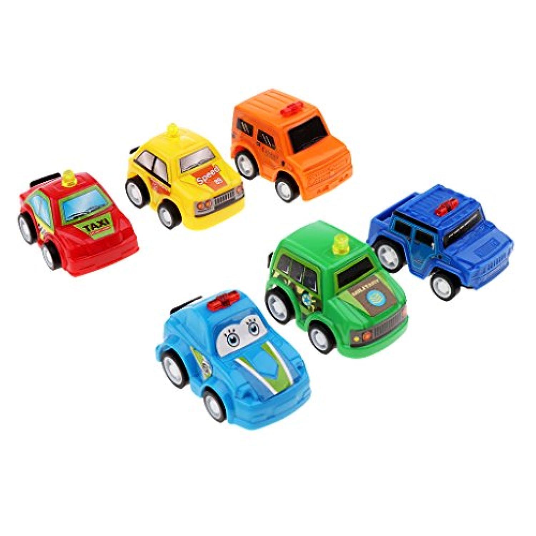 Kesoto 車 幼児のおもちゃ 赤ちゃん玩具 ミカ モデルカー  脳トレーニング 6個セット