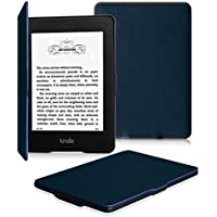 Fintie Kindle Paperwhite ケース 超薄 軽量 保護カバー オートスリープ機能付き (2016 NEW-Kindle Paperwhiteマンガモデル と 2012, 2013, 2015バージョン適応)(ネイビー)