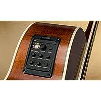 アコースティック&クラシックギタープリアンプオンボードプリアンプとピックアップシステム PRO PSY 201 (黒)