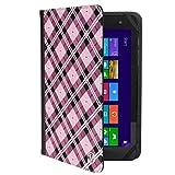 7-8インチユニバーサルタブレットスタンドケース Samsung/Huawei/Sony/LG/HP/Chuwi/Acer/Asus用 ピンク