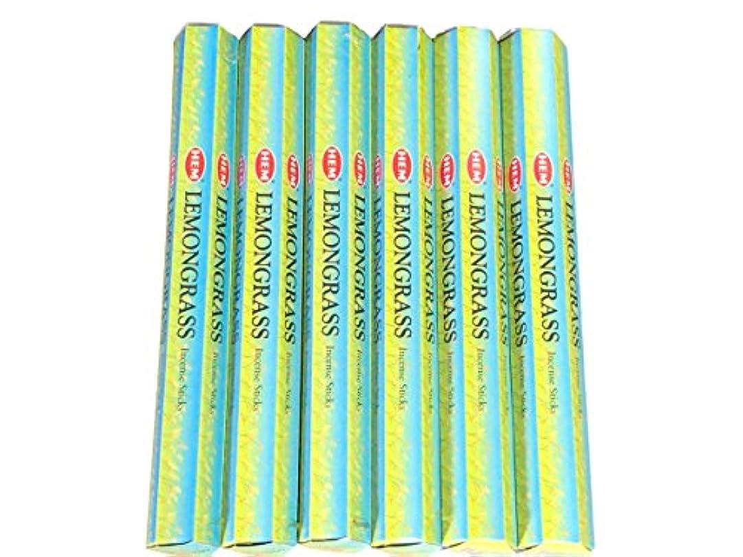 請求可能鉛筆ビリーヤギHEM (ヘム) インセンス スティック へキサパック レモングラス 6角(20本入)×6箱 [並行輸入品]