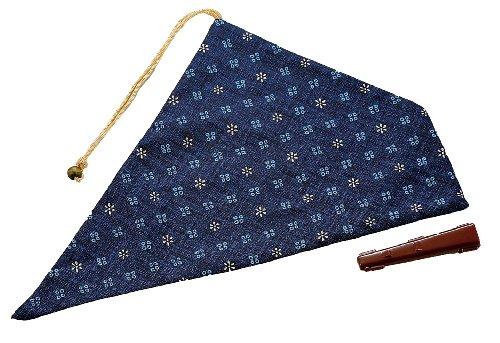 パール金属 my お箸袋 小紋かすり藍色 MK-2790