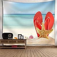KTYXDE ビーチ風景タペストリー壁掛け吊り布デジタル印刷壁画テーブルクロスピクニック毛布テレビの背景壁アート壁の装飾家の寝室リビングルーム子供部屋タペストリー タペストリー (Color : 019)