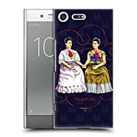 Official Frida Kahlo ブルー・バックグラウンド セルフ・ポートレイト ハードバックケース Sony Xperia XZ Premium
