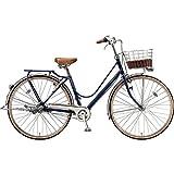ブリヂストン シティサイクル自転車 カジュナベーシックライン(ベルト) CB73B E.Xアメリカンブルー E.Xアメリカンブルー