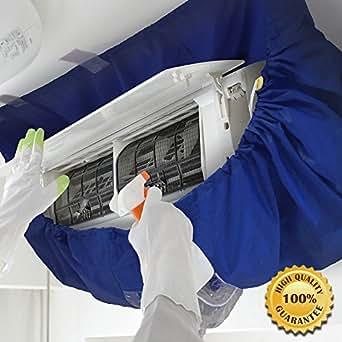 【 プロ仕様 】かぶせるだけでらくらく洗浄!エアコンフィン・ファン洗浄カバー シート エアコン掃除用 CREEKS PRO (中~大)