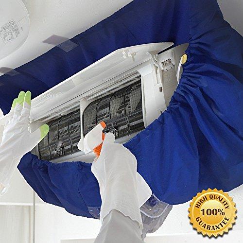 【 プロ仕様 】かぶせるだけでらくらく洗浄!エアコンフィン・ファン洗浄カバー シート エアコン掃除用 CRE...