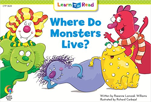 Where Do Monsters Live? (Fun and Fantasy Learn to Read)の詳細を見る