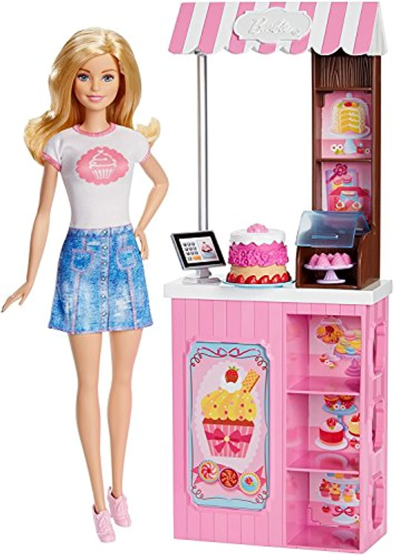 Barbieバービーブロンド人形 ベーカリーショップ