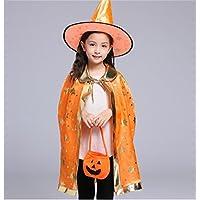 ハロウィンコスチューム魔女ウィザードCloak with Hat for Kids Boys Girls