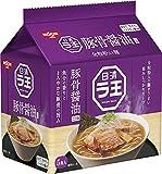 日清食品 ラ王 豚骨醤油 5食パック 490g×6パック