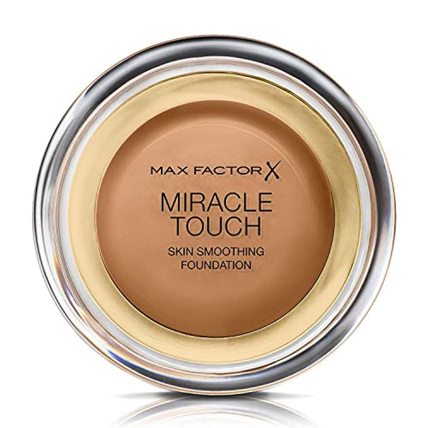 弓コーン第二マックス ファクター ミラクル タッチ スキン スムーズ ファウンデーション - カラメル Max Factor Miracle Touch Skin Smoothing Foundation - Caramel 085...