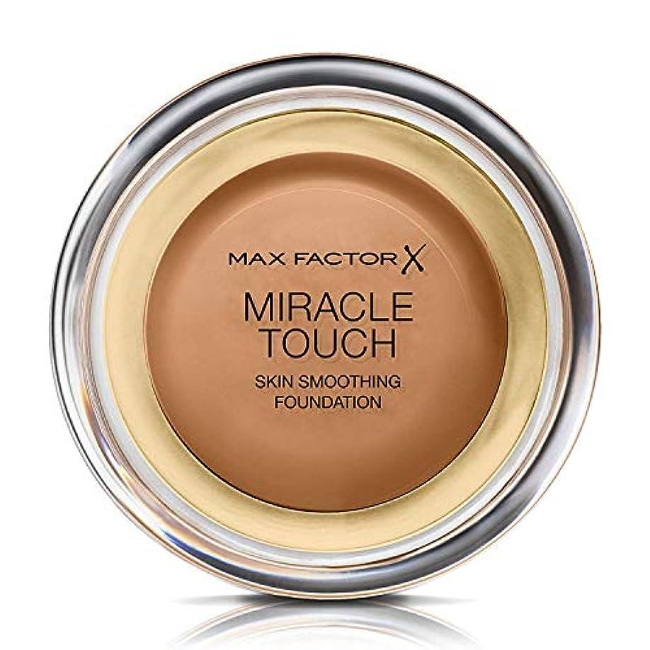 借りているパウダー尊敬マックス ファクター ミラクル タッチ スキン スムーズ ファウンデーション - カラメル Max Factor Miracle Touch Skin Smoothing Foundation - Caramel 085...