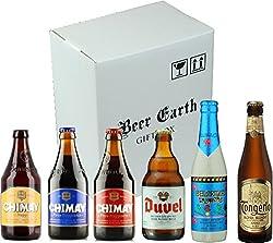 高級ベルギービール飲み比べ6本 Aセット【シメイ、デュベル、デリリュウム、ドンゲルローブロンド他】 専用ギフトボックスでお届け