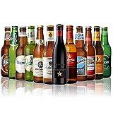 世界のビール12本飲み比べギフトセット スペイン産高級ビール入!スペイン ドイツ ベルギーなどビール本場より大集結!全種類の商品詳細がわかるビールリスト付 長S (12弾)