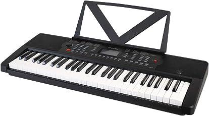 ONETONE ワントーン 電子キーボード 54鍵盤 日本語パネル LCDディスプレイ搭載 OTK-54 (譜面立て/電源アダプター付き)