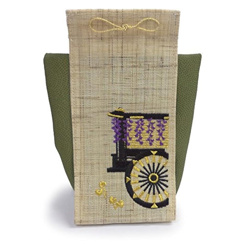 ストライプ偽装する対立香飾り 京の風物詩 葵祭