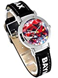 Disney ディズニー ベイマックス キッズ 腕時計 ブラック Big Hero 6 3D ロボット アニメ 映画 黒 【並行輸入品】