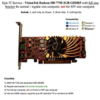 AMD Radeon 77502GB ddr33M ( 2x HDMI , miniDP )グラフィックスCAD–900686–OEM