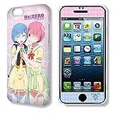 デザジャケット Re:ゼロから始める異世界生活 iPhone 6 Plus/6s Plusケース&保護シート Ver.2 デザイン02( レム & ラム )