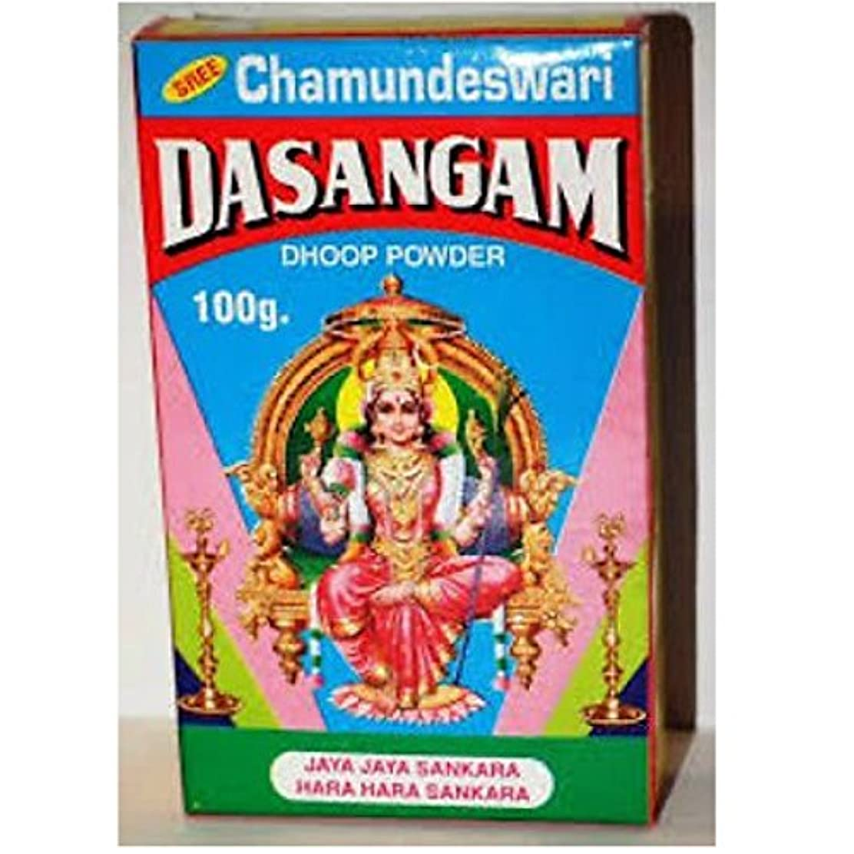 dasangam Pure元Dhoopパウダーfor Hindu供養、Hawan、祭り、100 gm