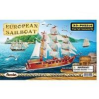 Puzzled C1505 Illuminated European Boat