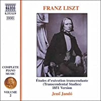 リスト:ピアノ曲全集 2 「超絶技巧練習曲集(1851年版)」